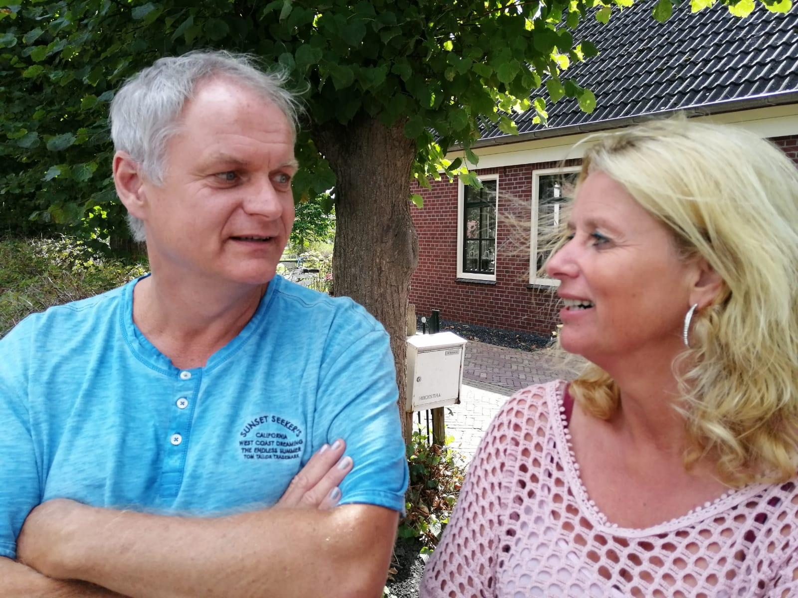 Aardbevingscoaches Melanie en Jodi