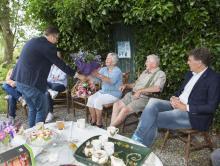 Eerste versterkte woning Lellens opgeleverd - wethouder Vdr Schaaf